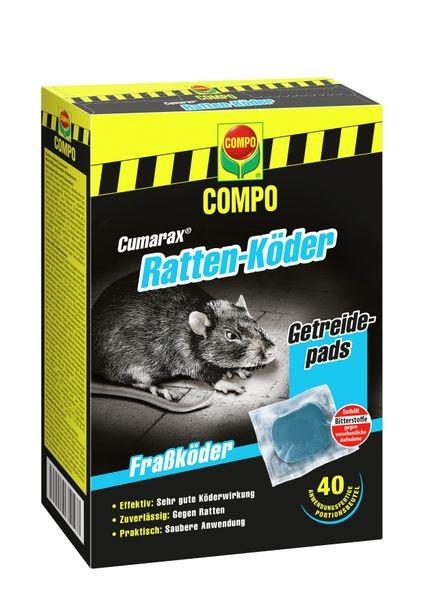 COMPO Ratten-Köder Cumarax® 400 g