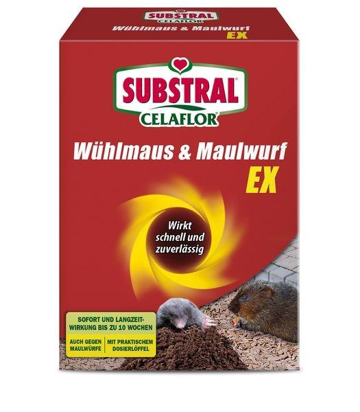 SUBSTRAL® CELAFLOR® Wühlmaus & Maulwurf Ex 150 g