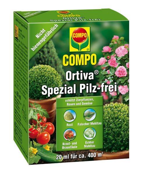 Compo Ortiva Spezial Pilz-frei 20 ml Fungizid gegen Pilzkrankheiten