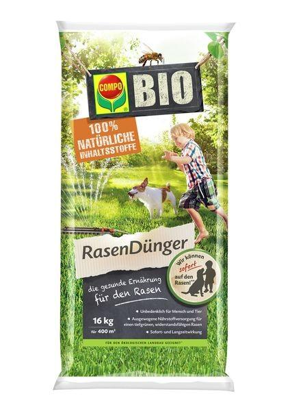 COMPO BIO Rasendünger 16 kg