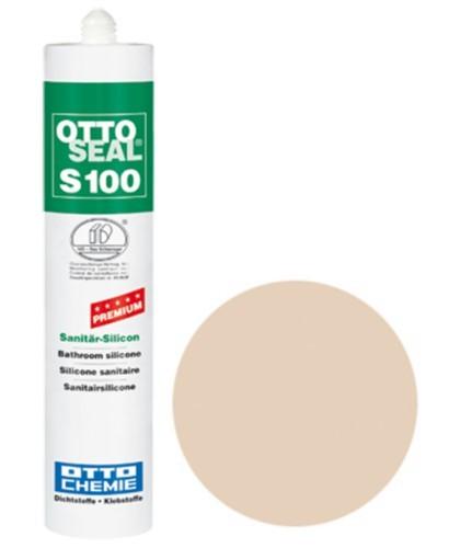 OTTOSEAL® S100 Premium-Sanitär-Silicon 300 ml - Strandbeige C1106