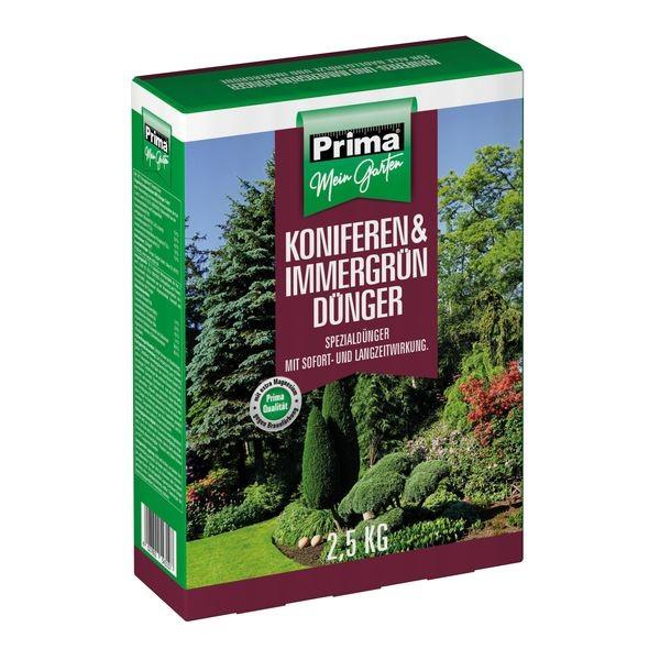 Prima® Koniferen- und Immergrün Dünger 2,5 kg