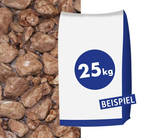 Marmorkies Rosso Verrona 25-40mm 25kg Sack