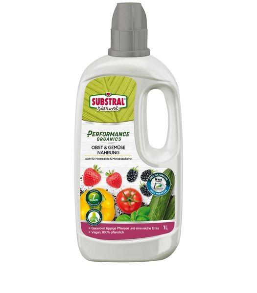 SUBSTRAL® Naturen® Performance Organics Obst & Gemüse Nahrung 1 l