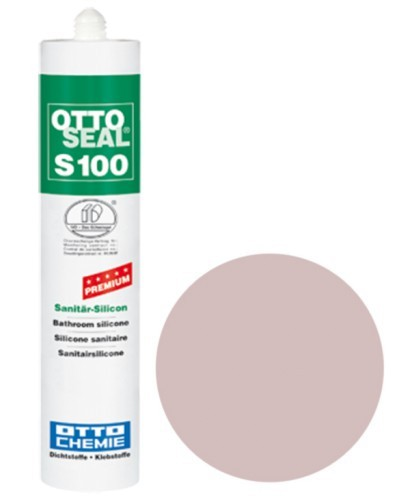 OTTOSEAL® S100 Premium-Sanitär-Silicon 300 ml - Magnolia C23