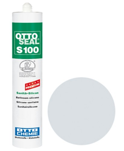 OTTOSEAL® S100 Premium-Sanitär-Silicon 300 ml - Chinchilla C45