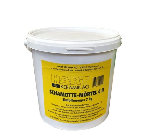 Schamotten-Mörtel C II 7 kg