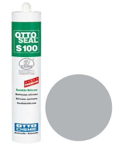 OTTOSEAL® S100 Premium-Sanitär-Silicon 300 ml - Distelgrau C81