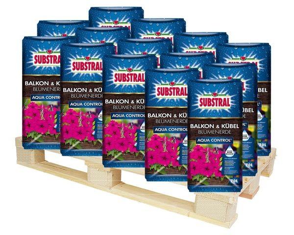 SUBSTRAL® Balkon & Kübel Blumenerde Aqua Control 2310 l