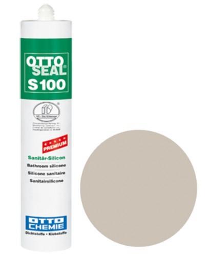 OTTOSEAL® S100 Premium-Sanitär-Silicon 300 ml - Graurot C1010