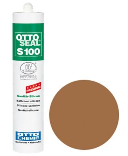 OTTOSEAL® S100 Premium-Sanitär-Silicon 300 ml - Mittelbraun C15
