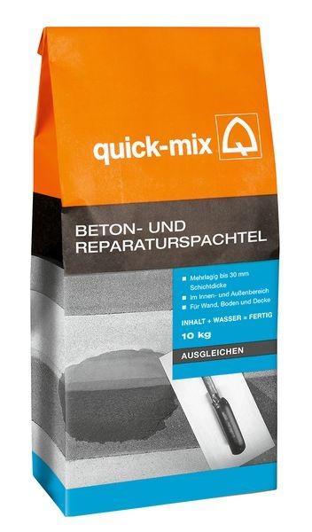 quick-mix BRS Beton- und Reparaturspachtel 10 kg