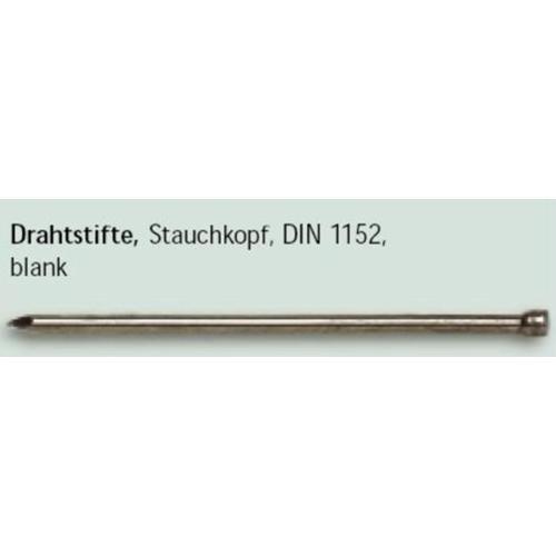 Drahtstifte blank gestaucht 14x25 1,0 kg