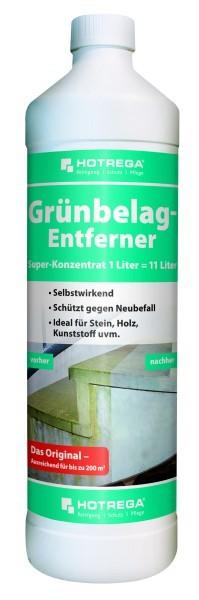 HOTREGA® Grünbelag-Entferner 1:10 Super-Konzentrat 1 l
