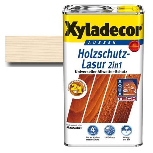 Xyladecor® Holzschutz-Lasur 2 in 1 Weißbuche 2,5 l