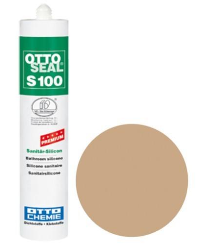 OTTOSEAL® S100 Premium-Sanitär-Silicon 300 ml - Bahamabeige C10