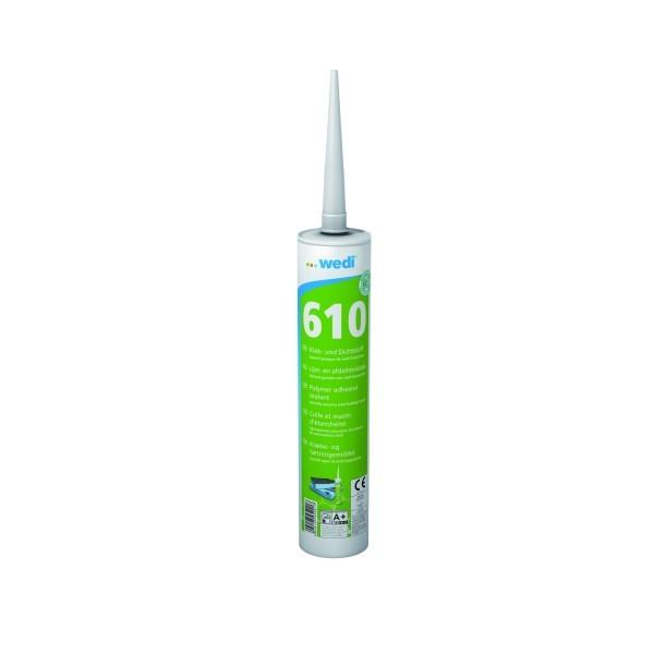 wedi 610 Kleb- und Dichtstoff 310 ml