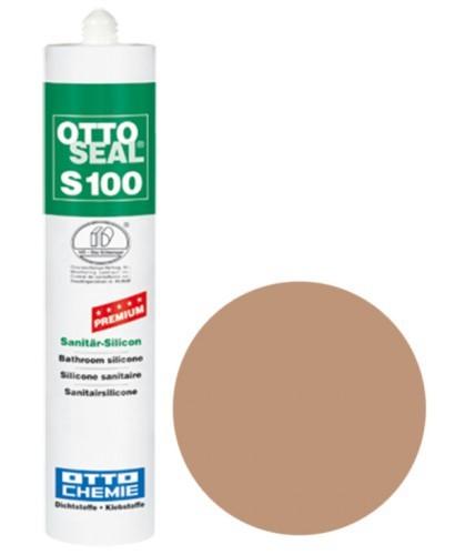 OTTOSEAL® S100 Premium-Sanitär-Silicon 300 ml - Rotbeige C82