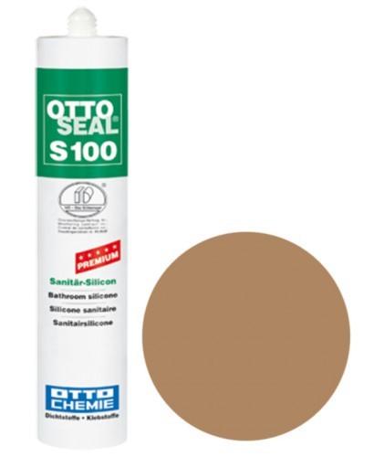 OTTOSEAL® S100 Premium-Sanitär-Silicon 300 ml - Caramel C09