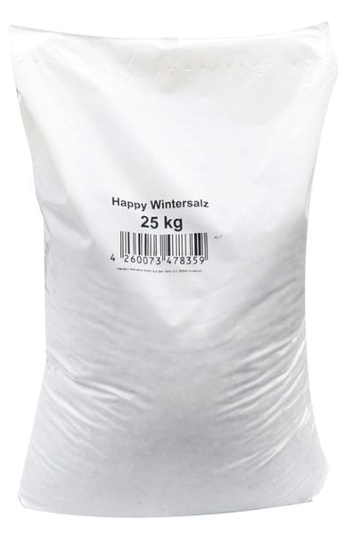 Happy-Wintersalz - Splitt-Salzgemisch 25 kg
