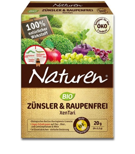 NATUREN® Bio Zünsler & Raupenfrei XenTari 20 g