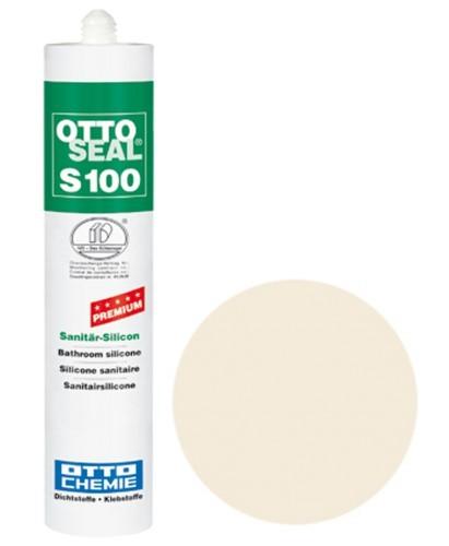 OTTOSEAL® S100 Premium-Sanitär-Silicon 300 ml - Fugenweiß C69