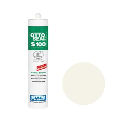 OTTOSEAL® S100 Premium-Sanitär-Silicon 300 ml - Altweiß C51