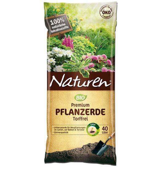 NATUREN® Bio Premium Pflanzerde Torffrei 40 l