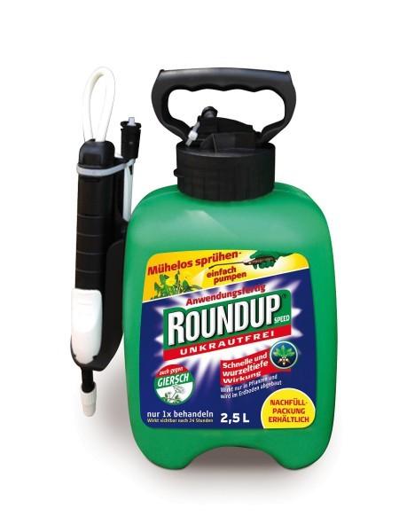 ROUNDUP® Speed Unkrautfrei Drucksprühgerät 2,5 l