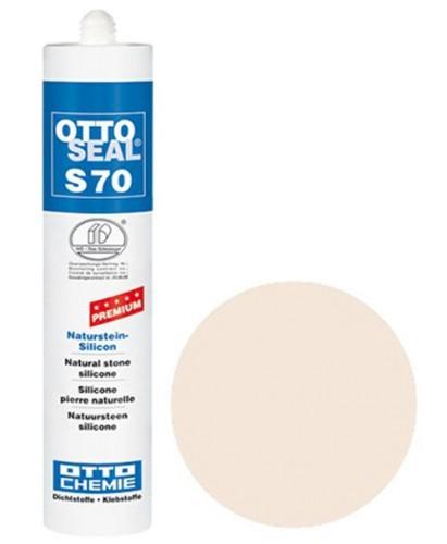 OTTOSEAL® S70 Premium-Naturstein-Silicon 310 ml - Sandsteinbeige C1110