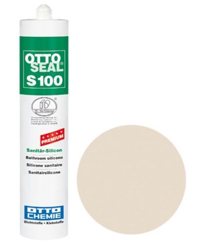 OTTOSEAL® S100 Premium-Sanitär-Silicon 300 ml - Pergamon C84