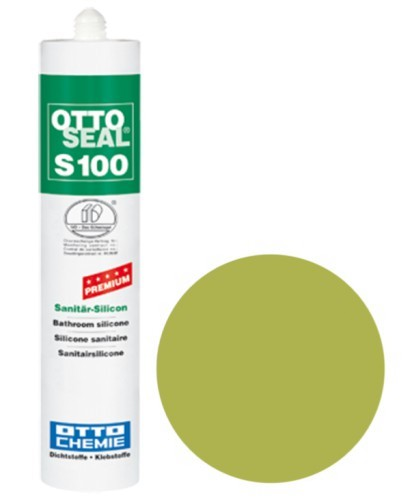 OTTOSEAL® S100 Premium-Sanitär-Silicon 300 ml - Moosgrün C11