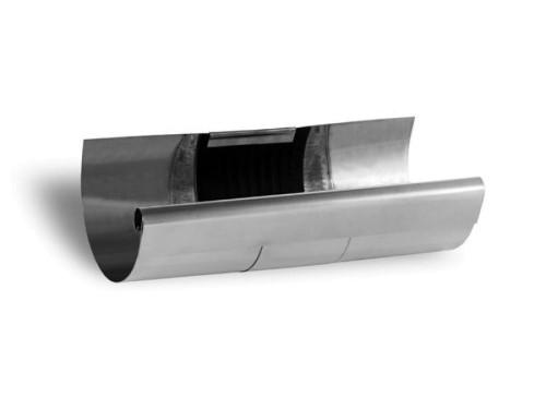 Zambelli VM Blank-Zinc® Rinnen-Dilatation halbrund 7 tlg. 280 mm