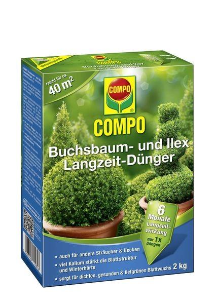COMPO Buchsbaum- und Ilex Langzeit-Dünger 2 kg