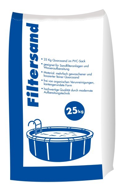 Hamann Filtersand 0,5-1,25 mm 25 kg