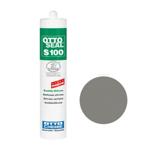 OTTOSEAL® S100 Premium-Sanitär-Silicon 300 ml - Achatgrau C62