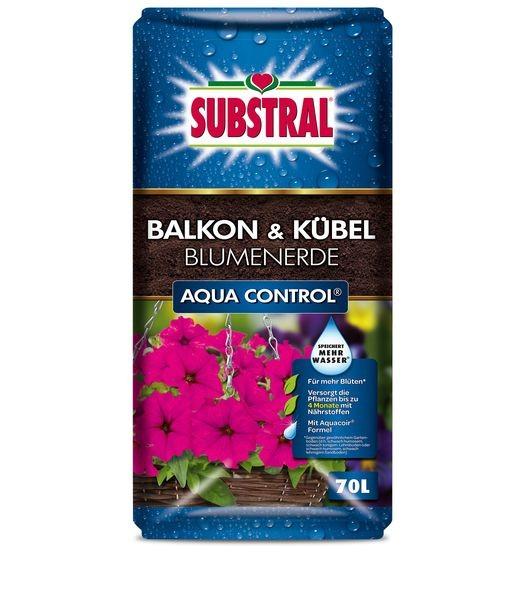 SUBSTRAL® Balkon & Kübel Blumenerde Aqua Control 70 l