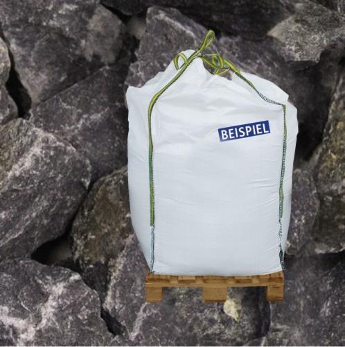 600kg BigBag Gabionen Steine Basaltbruch anthrazit 40-70mm