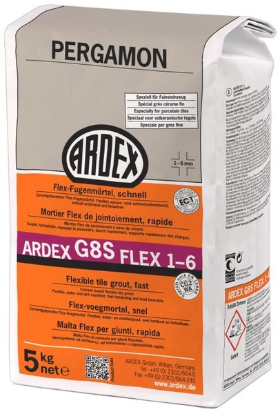 ARDEX G8S FLEX-Fugenmörtel 1-6 - 5 kg pergamon