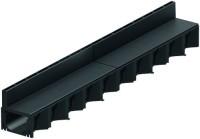 ACO Hexaline 2.0 Rinne 1 m schwarz + 2x Schlitzaufsatz 0,5 m schwarz