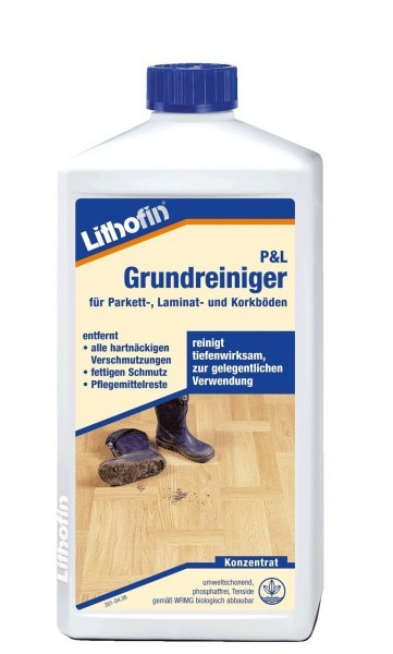 Lithofin Parkett & Laminat Grundreiniger 1 l