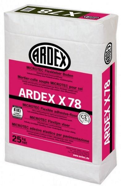 ARDEX X78 MICROTEC Flexkleber Boden 25 kg