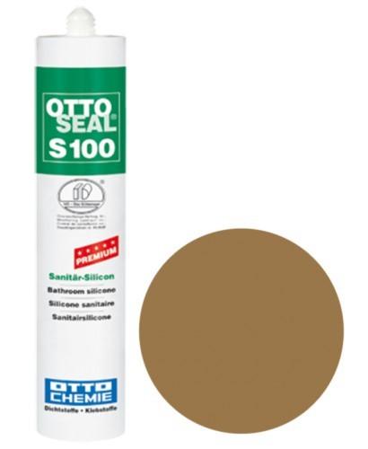 OTTOSEAL® S100 Premium-Sanitär-Silicon 300 ml - Umbra C60