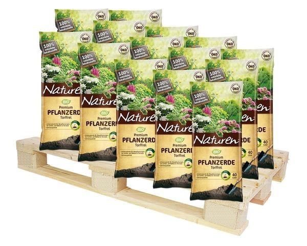 NATUREN® Bio Premium Pflanzerde Torffrei 2160 l