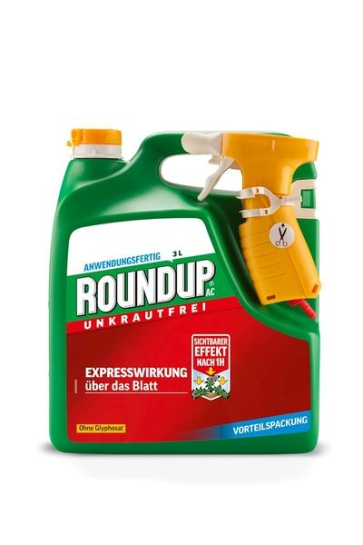 ROUNDUP® AC Unkrautfrei Sprühsystem 3 l