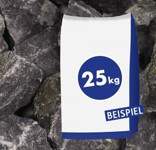 25kg Gabionen Steine Basaltbruch Anthrazit 40-70mm