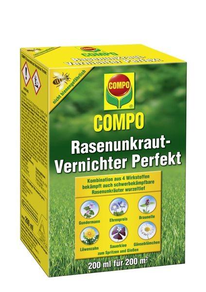 COMPO Rasenunkraut-Vernichter Perfekt 200 ml