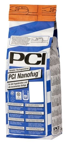 PCI Nanofug® Variabler Flexfugenmörtel 4 kg - 23 Lichtgrau