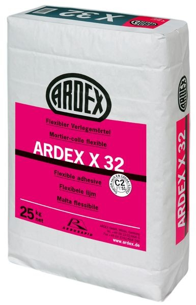 ARDEX X 32 flexibler Verlegemörtel 25 kg