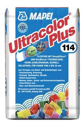Mapei Ultracolor Plus Fugmörtel Silbergrau 5 kg